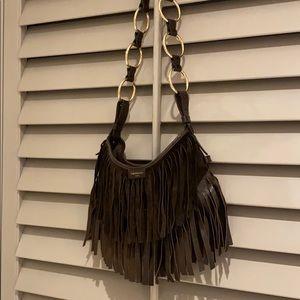 Yves Saint Laurent fringe purse